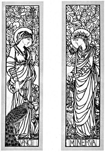Two panels, each featuring one of the named figures